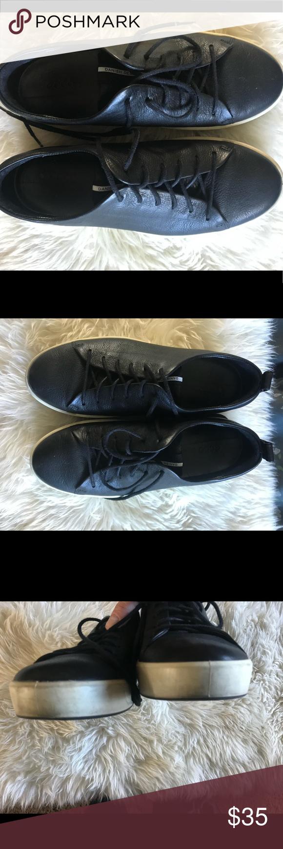 Black shoes, Ecco shoes, Danish design