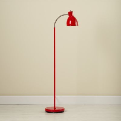 Bright Idea Floor Lamp Red The Land Of Nod Red Floor Lamp Bright Floor Lamp Floor Lamp