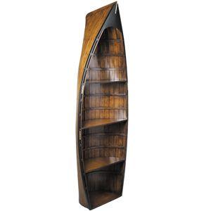 Bosun Gig Boat Bookcase