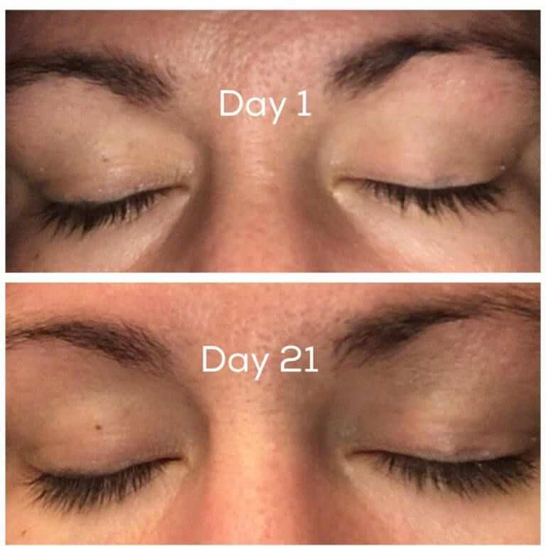 1 to 21 days #howtosing How to Make My Eyelashes GROW . . . SeneGence Lash Extend · Sing OUT in the Rain #howtosing