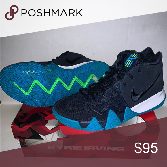 new arrival 8d261 a6c43 New Nike Kyrie 4 Think Twice Mens Size 9.5 New Mens Nike Kyrie 4