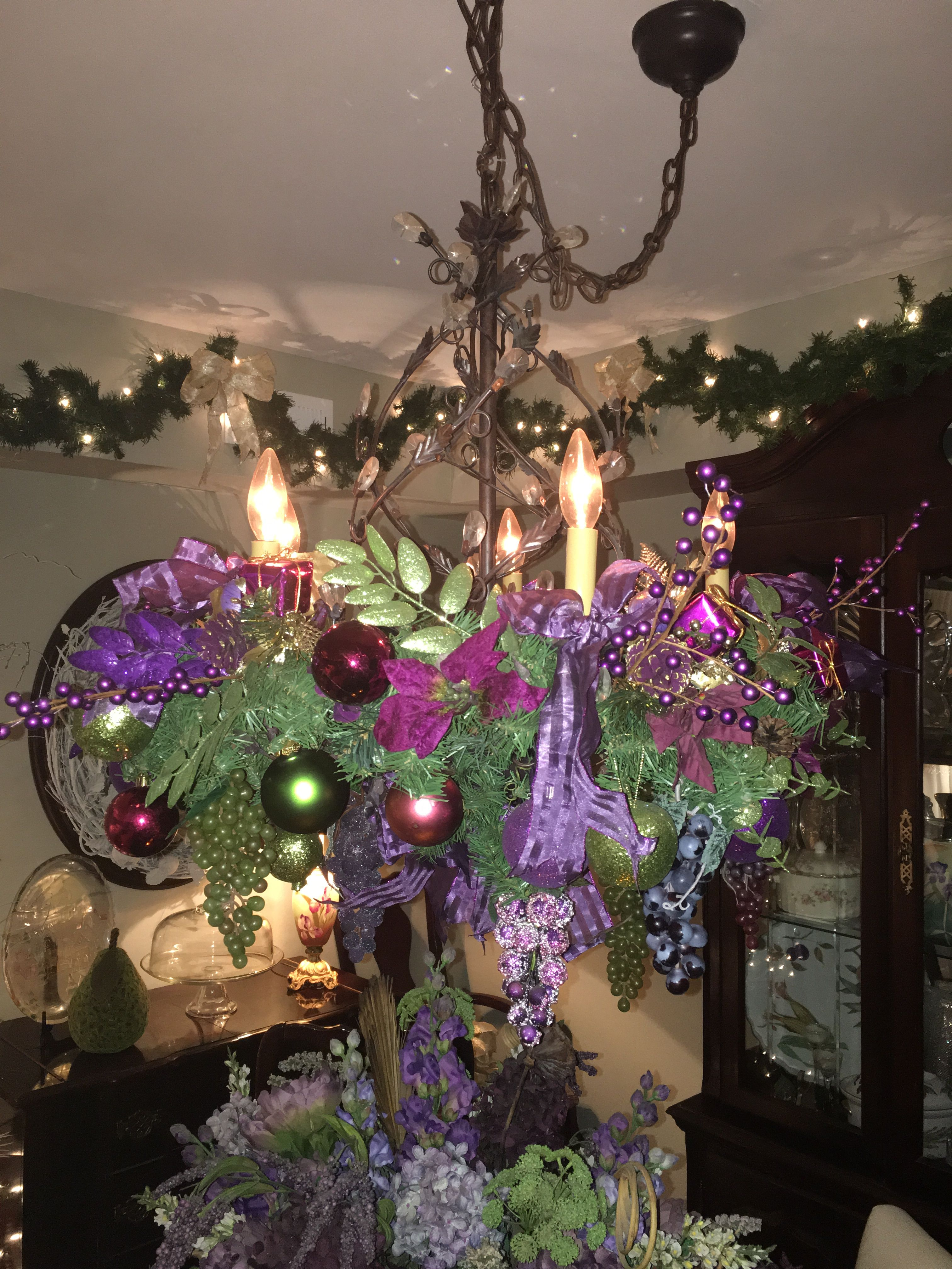 Christmas chandelier christmas pinterest christmas chandelier christmas chandelier arubaitofo Image collections