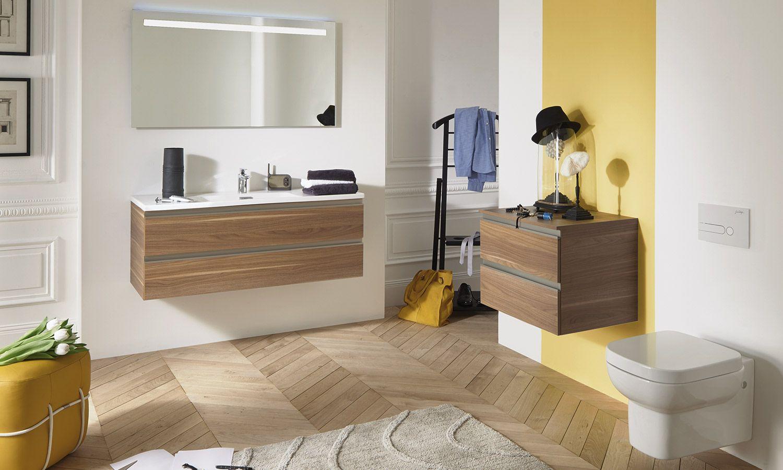 Découvrez la collection de meubles de salle de bains Vox par Jacob