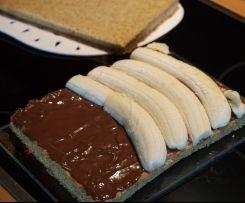 Bananen-Split-Torte