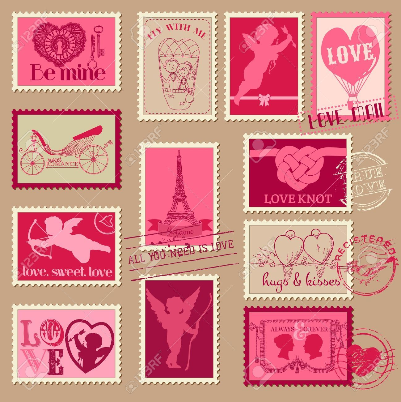 Scrapbook paper vintage love buscar con google papel - Magasin de scrapbooking paris ...