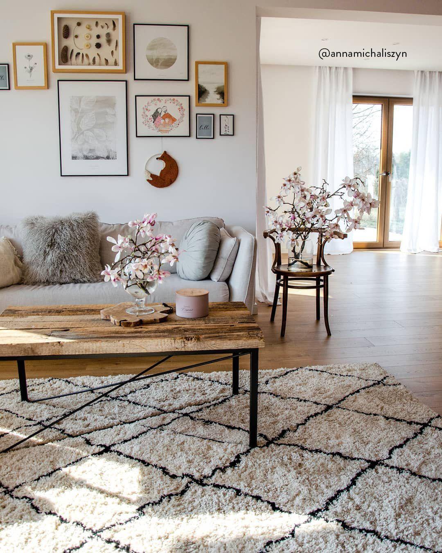 Flauschiger Hochflor Teppich Naima Handgetuftet Westwingnow Wohnzimmer Dekor Inneneinrichtung Wohnzimmer Ideen Gemütlich