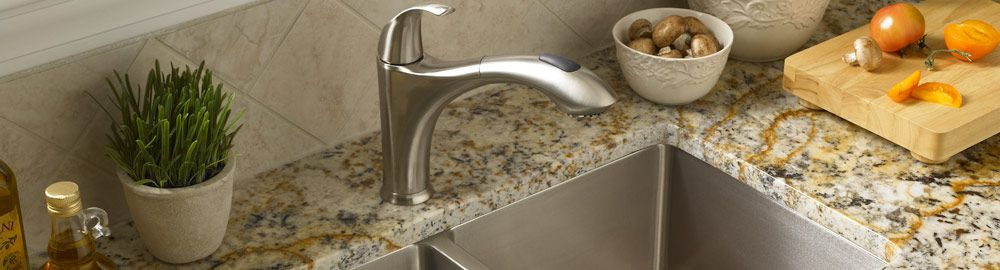 Mirabelle Kitchen features Faucets & 16 gauge Stainless Steel Sinks ...