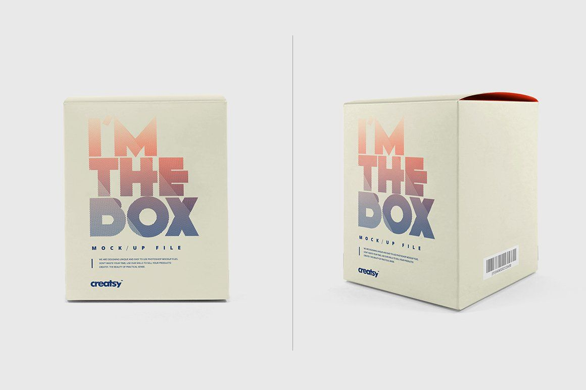 Download Candle With Box Mockup Business Card Design Simple Box Mockup Business Card Design