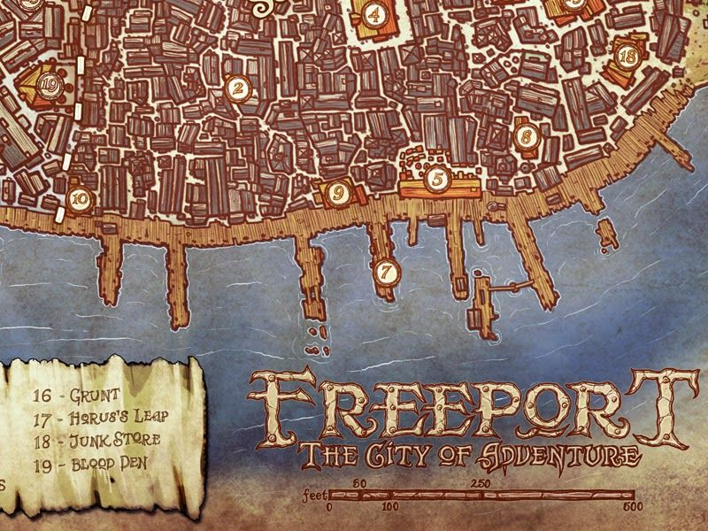 Image result for green ronin freeport map Maps Pinterest