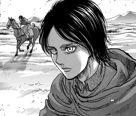 Eren with longer hair chapter 90