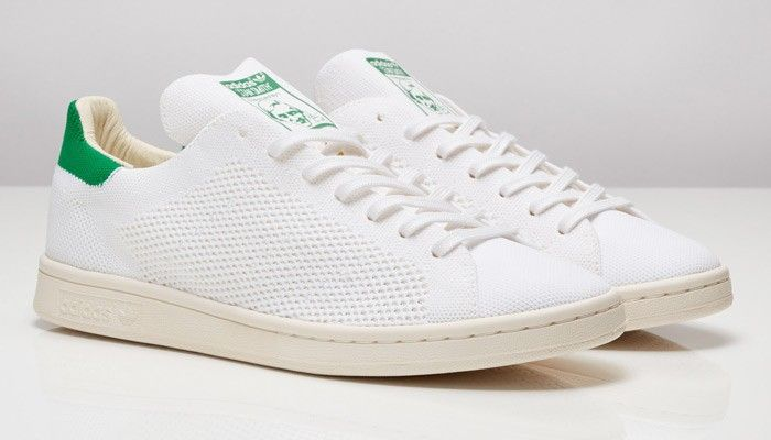 649c2d65eade adidas Stan Smith prime knit white-green