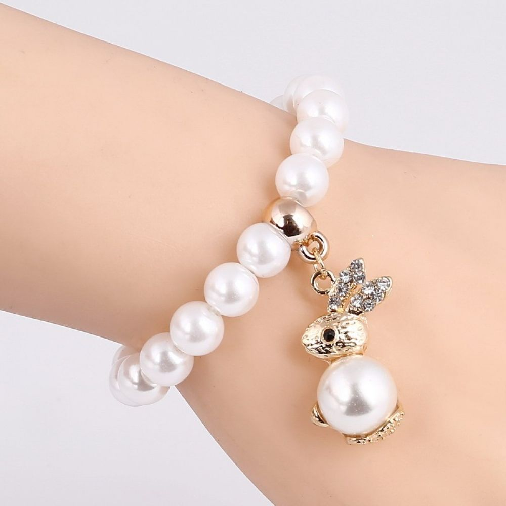 🔥Rabbit Pearl Beads Bracelet!🔥       🌍 FREE worldwide shipping with no minimum orders required! 🎁 Perfect gift for your family and friends.  ❤ Share to a friend who would also love this! 💳 We accept Paypal and Credit Card/Debit Card.  #bunnysept #bunnygirls #bunnysecretstash #bunnyhouse #bunnyfresh #bunnymodel #bunnymum #bunnyhead #bunnylines #bunnyranch #bunnyfamily #bunnypinterest #bunnyinhollywood #bunnyspace #bunnyland