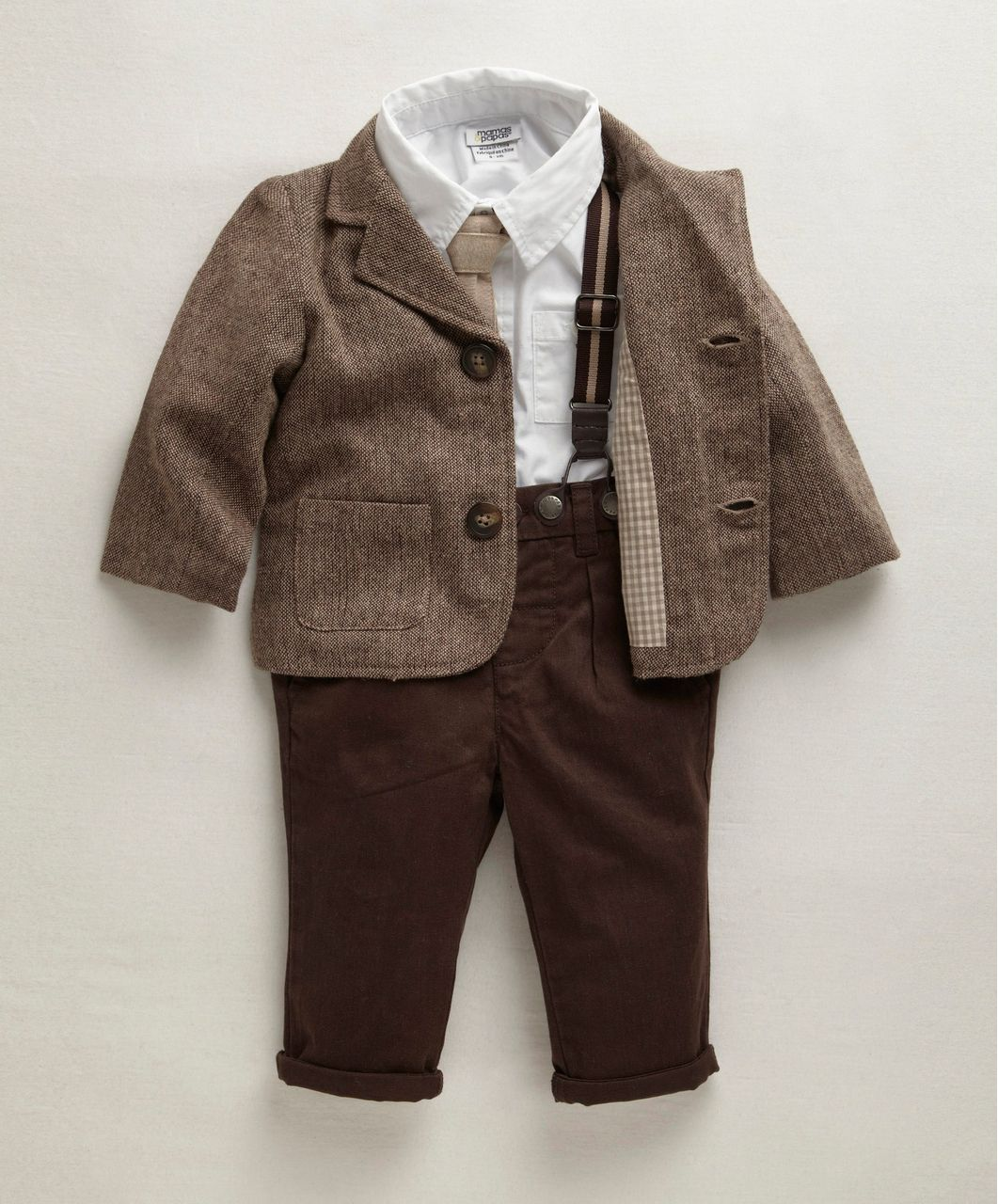 Boys Welcome To The World 5 Piece Jacket Set - Up To 60% Off Boys Clothes -  Mamas   Papas d7e62c353
