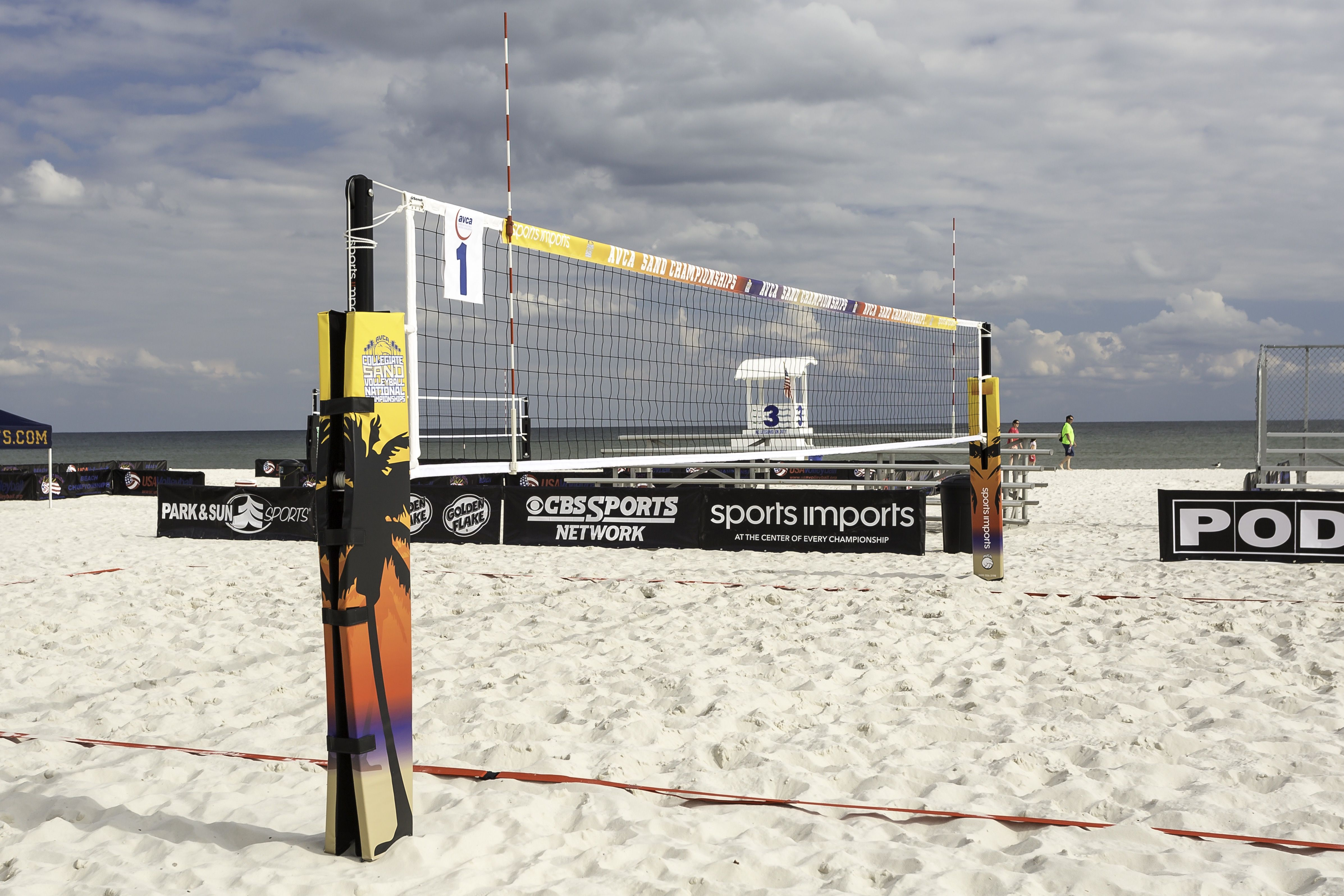 Sports Imports The Official Net System Of The Ncaa Beach Volleyball Championship With Images Volleyball Beach Volleyball Volleyball Equipment