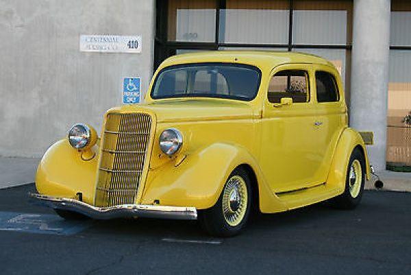 Ford other street rod 1935 ford 2 door slant back sedan for 1936 ford 2 door slant back