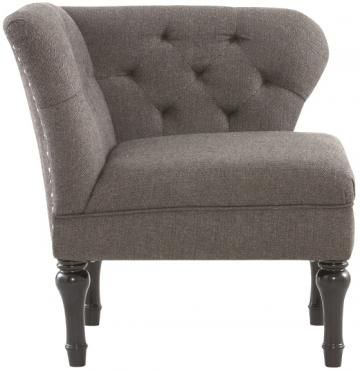 Delightful Mya Corner Chair   Upholstered Chairs   Accent Chairs   Seating   Chairs |  HomeDecorators.