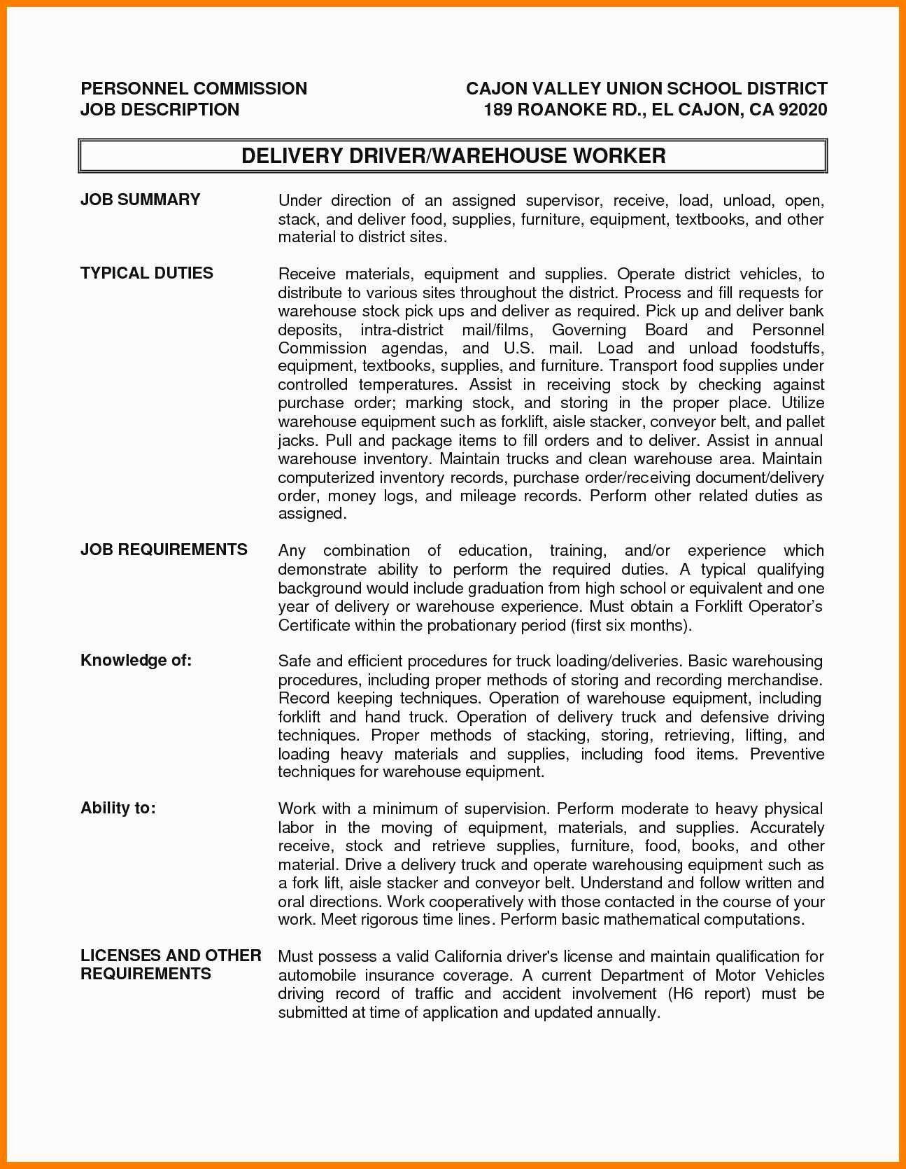 20 Truck Dispatcher Job Description Resume Job Description