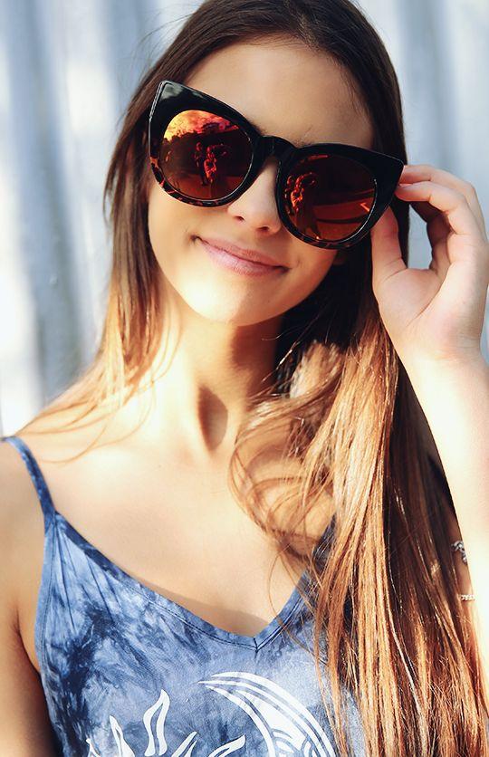8471d72b91ff8 Quay Australia - Cha cha Sunglasses - Black Tort