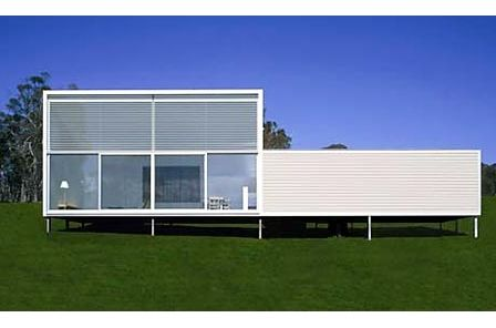 Modern Modular prefab home designed by Collins Turner