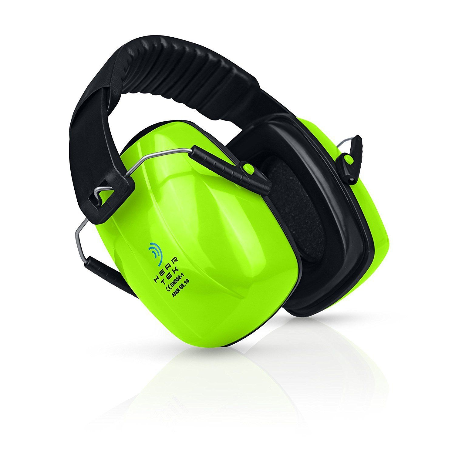 Safety Ear Muffs Adjustable Adult Size Noise Canceling Ear