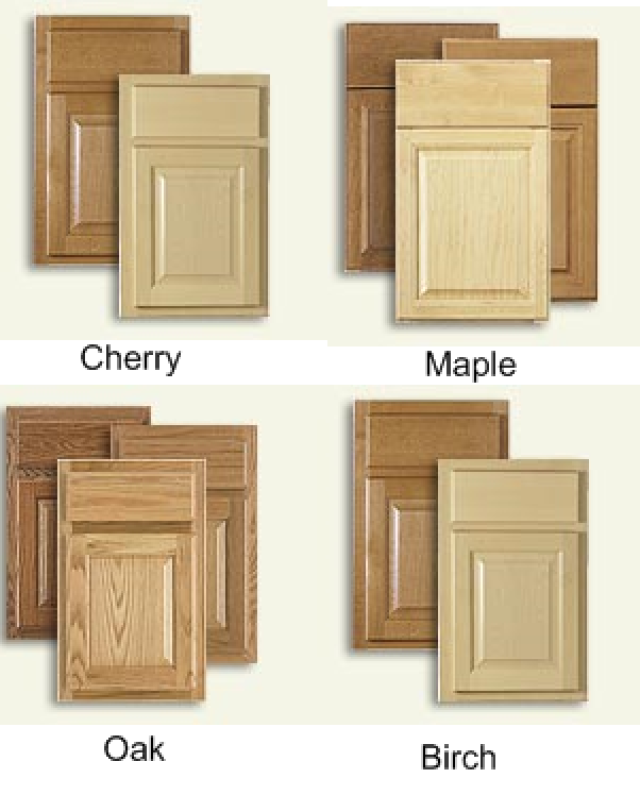 Looking for new kitchen cabinets check out these ideas for Types of wood used for cabinets