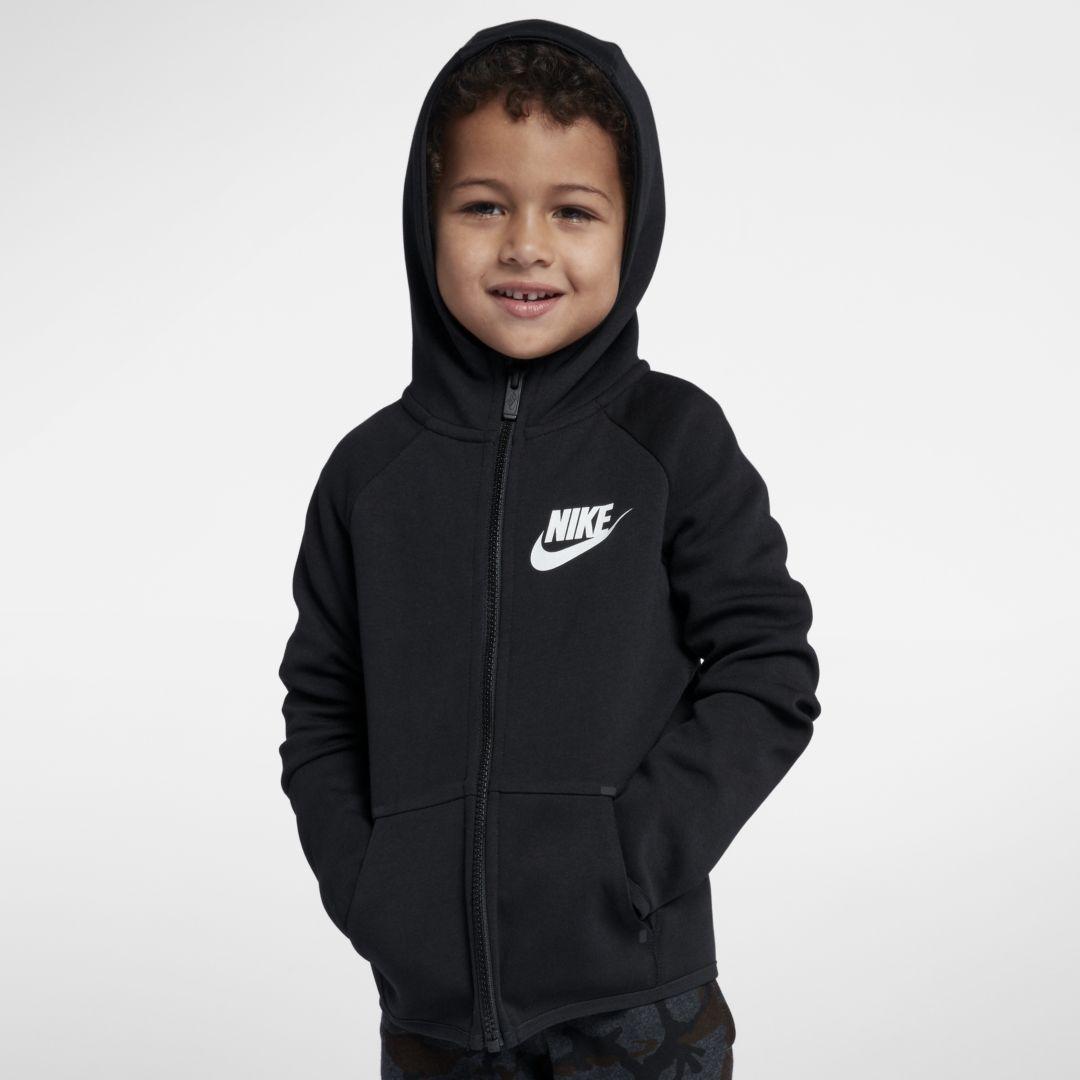 0165f158feac Nike Sportswear Tech Fleece Little Kids  Full-Zip Hoodie Size ...