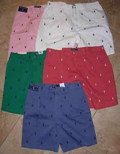 05e92ad74e New Polo Ralph Lauren Shorts Golf Prospect Tyler Shorts Multi Pony | eBay