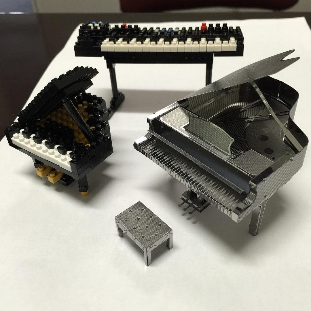 악기들 만들기. I will be building more musical instruments. #piano#grandpiano#keyboard#losangeles#daily#hobby#nanoblock#block#music#la#나노블럭#나노블럭스타그램#레고#일상#취미#lego#블럭