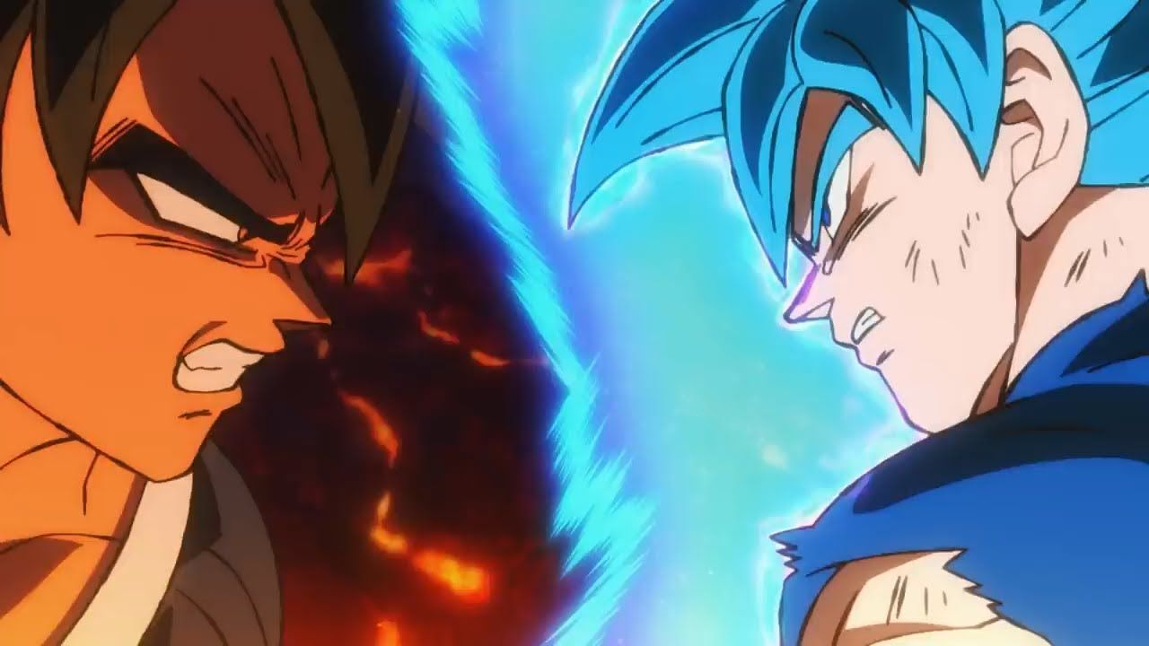 Dragon Ball Super Broly Movie Amv Never Let Her Go Hd Dragon Ball Super Broly Movie Dragon Ball