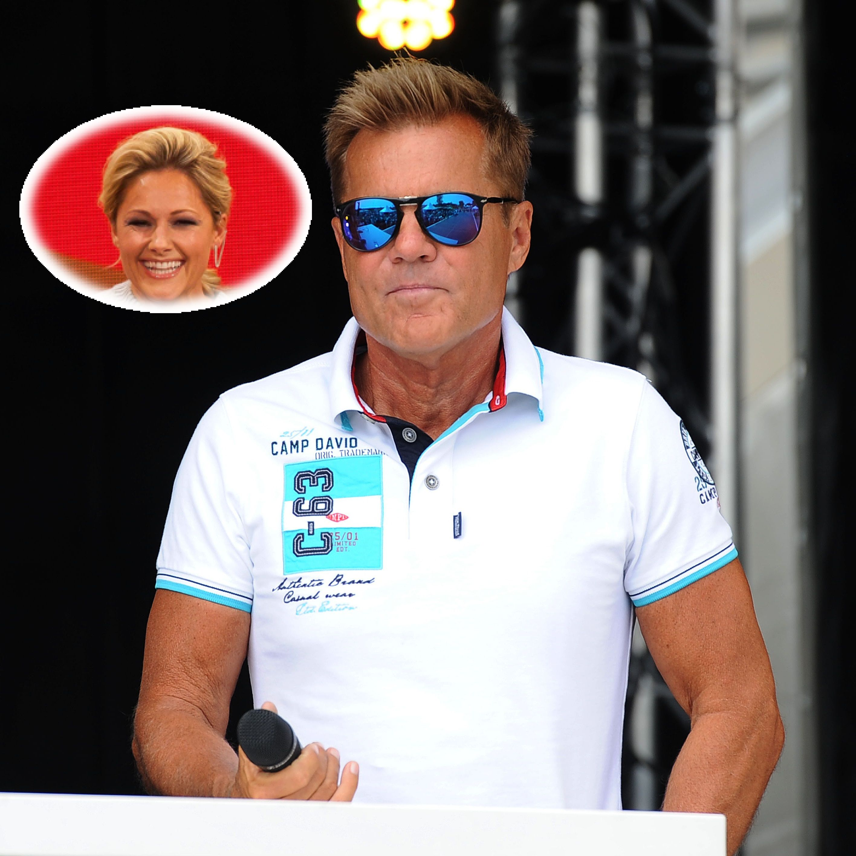 Dsds Dieter Bohlen Will Helene Fischer Nicht In Der Jury Sehen Mens Tops Modern Talking Men S Polo Shirt