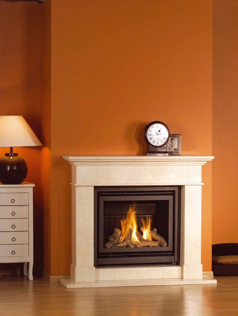 Small Gas Fireplace For Bedroom Direct Vent Insert Eloquence 24 From Brigantia By Archgard At