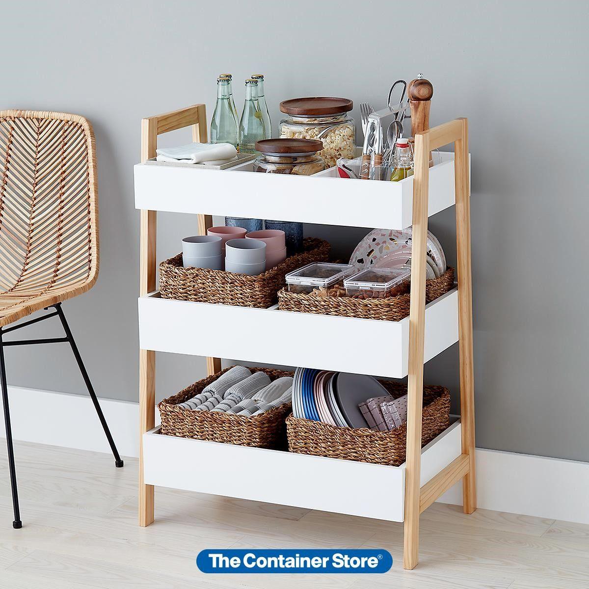 White Multi Purpose 3 Tier Shelf In 2020 Shelves Wall Shelves
