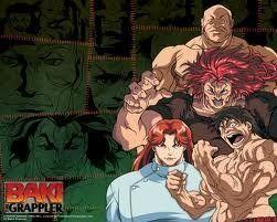 Baki The Grappler Tv Perfect Collection Part 1 1 24 Episodes