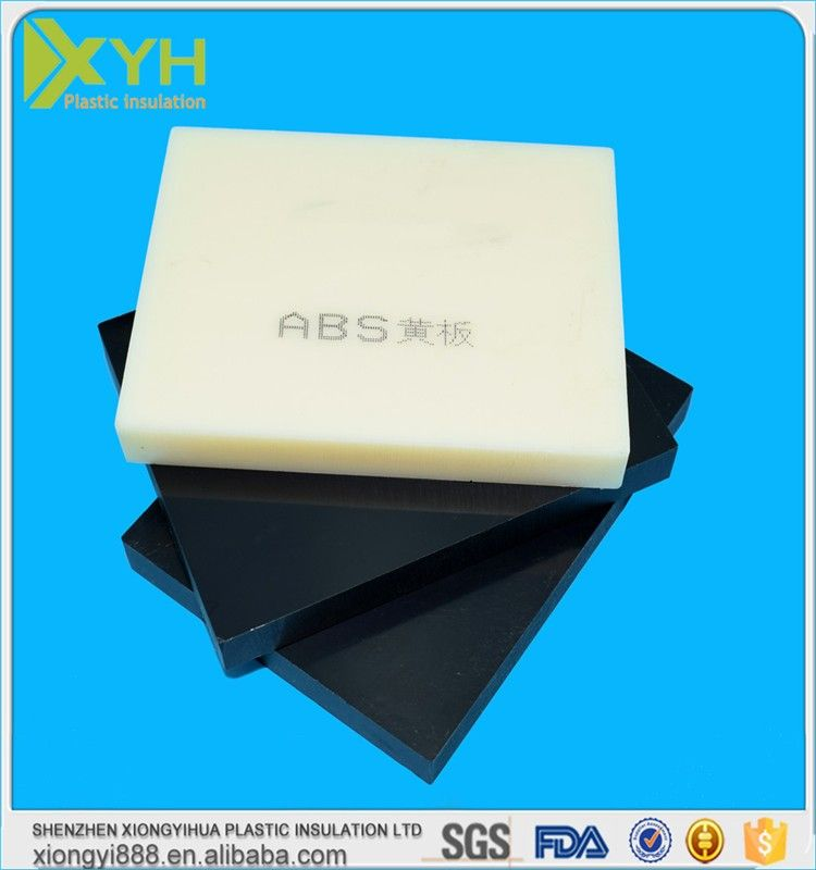 15 100mm Abs Solid Plastic Block Abs Board Plastic Insulation Abs Rod