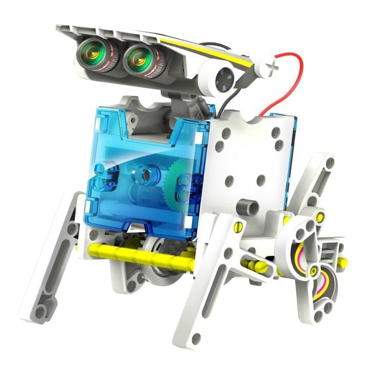 Build Your Own Solar Robot 14 in 1 | Solar powered toys ...