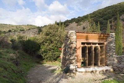 unusual cheap cabin ideas. Speaking of secluded cabins  Secluded Stone Cabin tiny but perfect to hide away from
