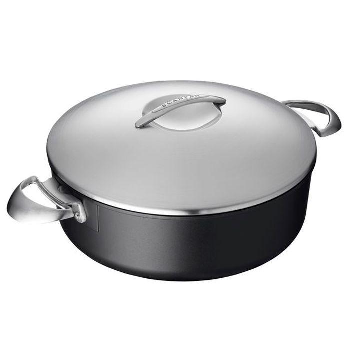 Scanpan Professional 5.5-Quart Sauce Pot with Cover