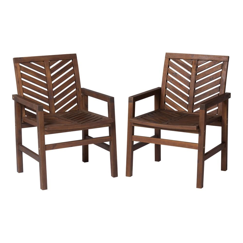 Swell Walker Edison Furniture Company Dark Brown Acacia Wood Beatyapartments Chair Design Images Beatyapartmentscom