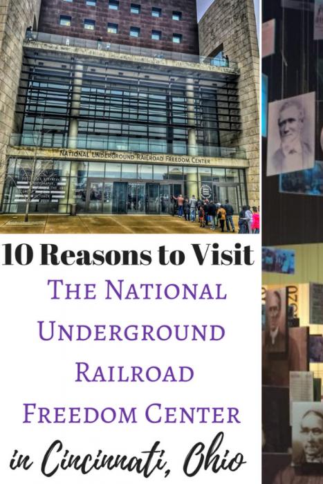 10 Reasons To Visit The National Underground Railroad Freedom Center In Cincinnati Adventure Mom Underground Railroad Ohio Travel Midwest Travel