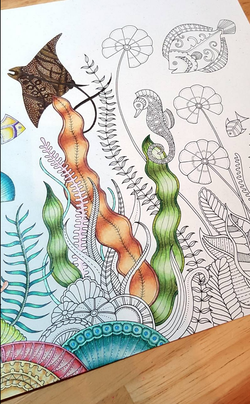 Johanna Basford | Emily Laughlin | Inspirational Coloring Pages ...
