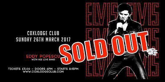 Eddy Popescu - SOLD OUT!