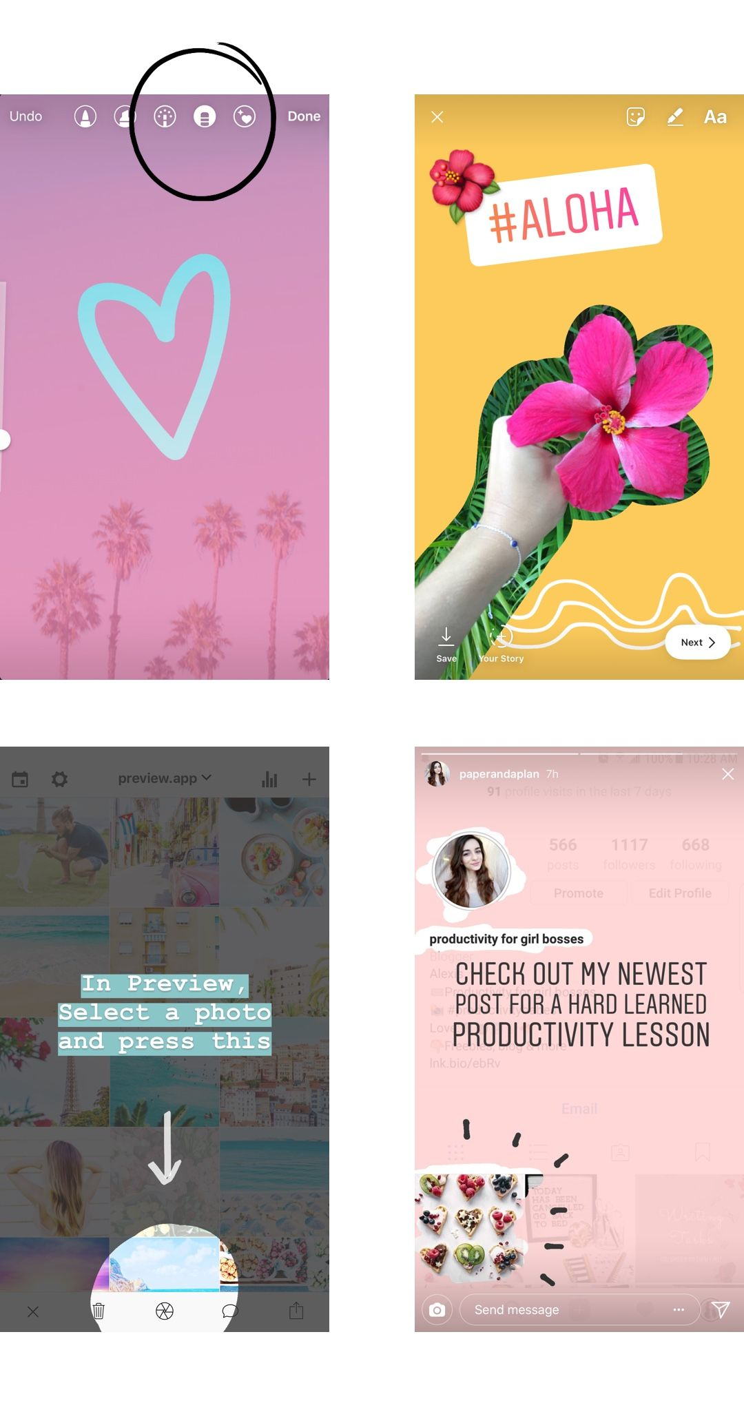 Top 10 Favorite Insta Story Tricks Insta Story Instagram Story