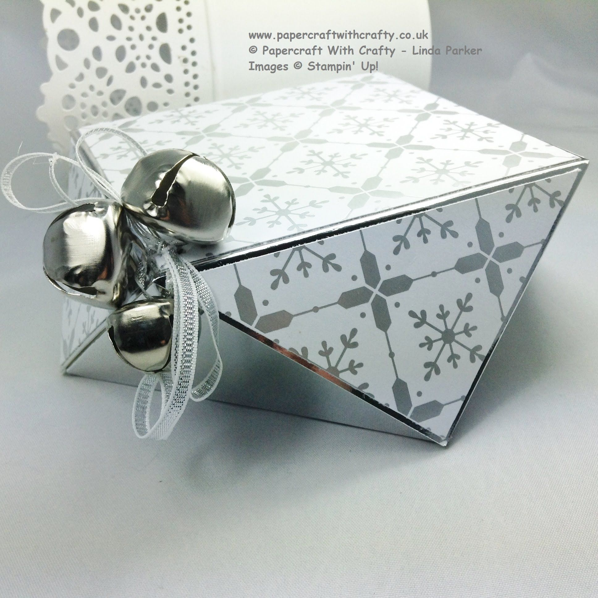 Envelope Punch Board Faceted Box