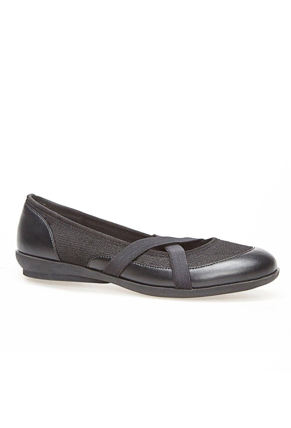 1ecb682a10c Olympia Criss Cross Cloudwalkers® Comfort Shoe-Wide Width Shoe-Avenue