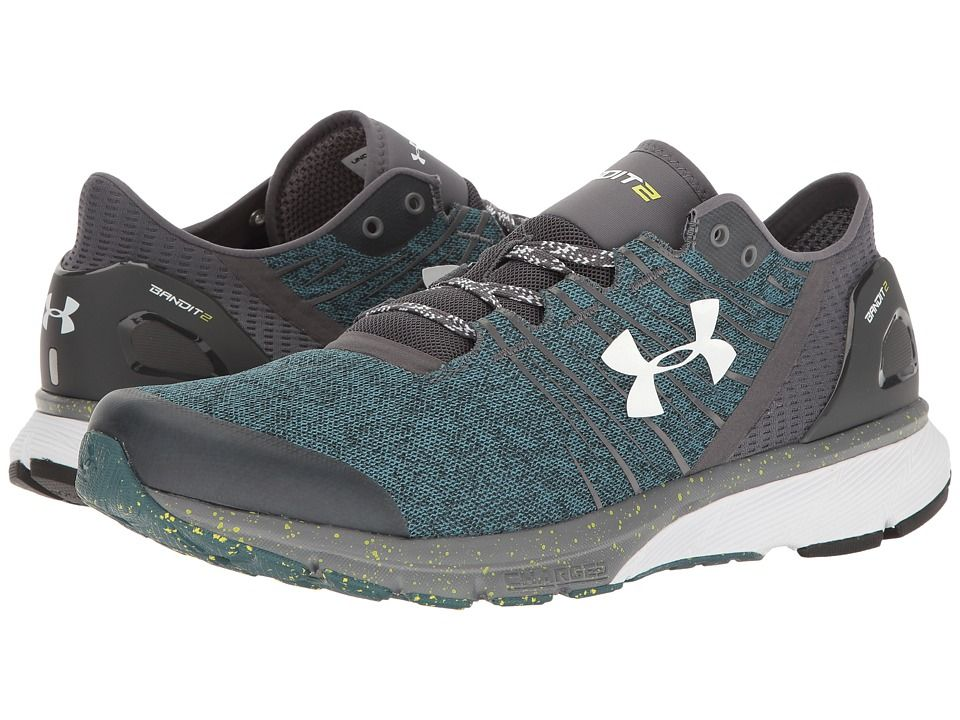 Estados Unidos Leia Collar  Under Armour UA Charged Bandit 2 Men's Running Shoes Rhino Gray/Marlin  Blue/White | Mens gym shoes, Gym shoes, Running shoes for men