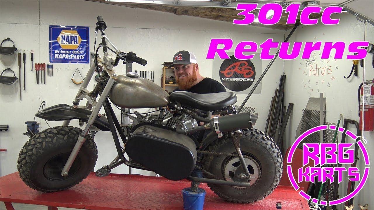 The Return of the 301cc Mini Bike ~ Mini Bike Monday~ Baja