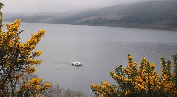 O monstro do Loch Ness, na Escócia, foi avistado novamente este mês