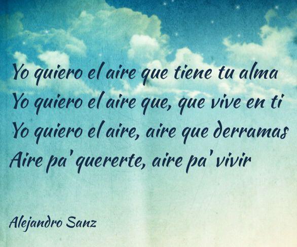 Alejandro Sanz Letras De Canciones Frases De Canciones Fraces