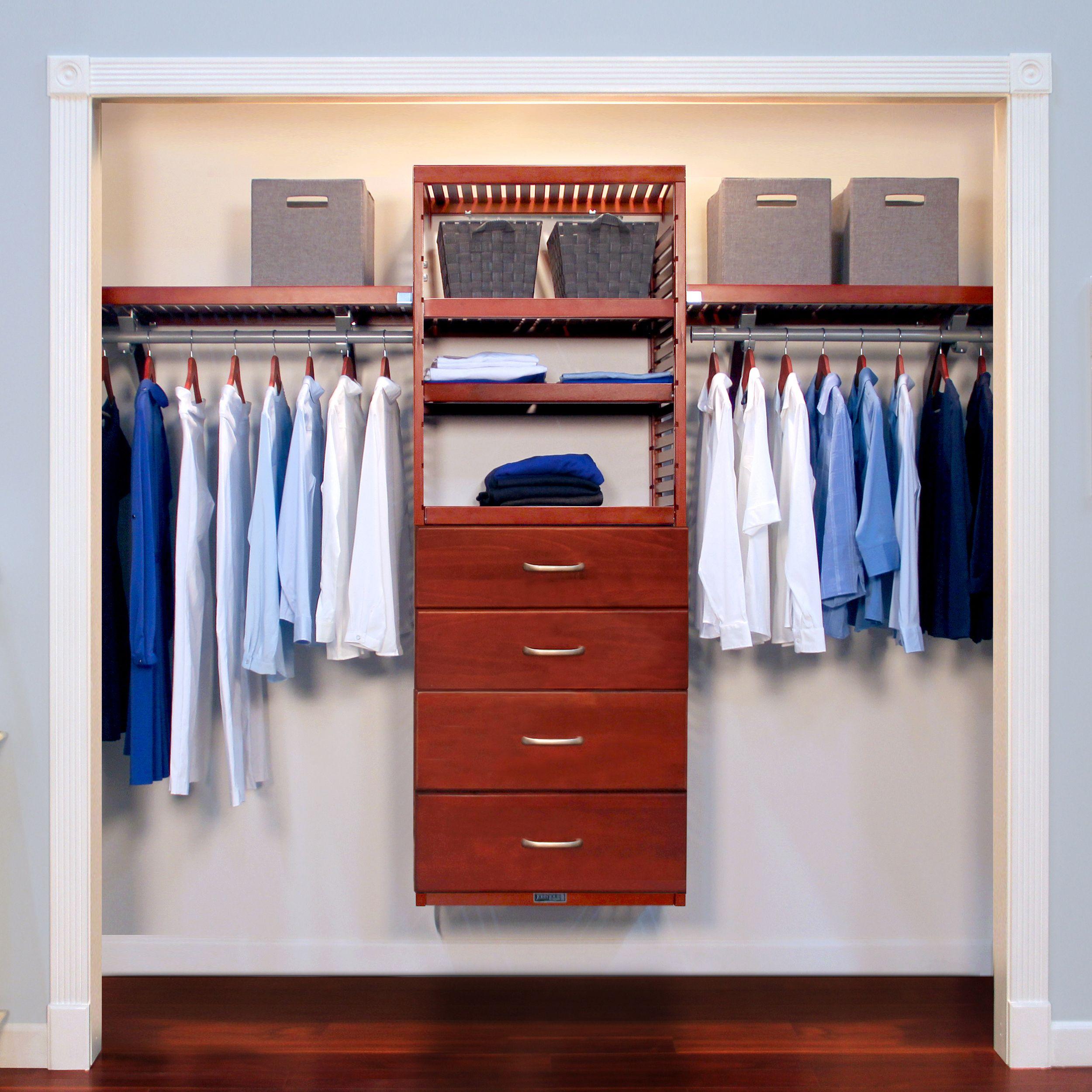 16in deep deluxe organizer 4 drawer 8 10in deep