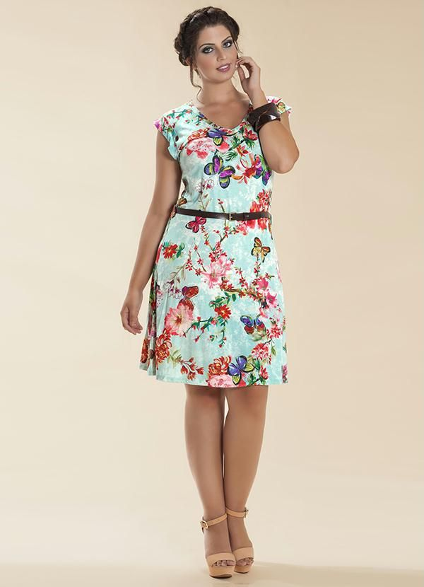 f9dcb5b341f4 Vestido Floral Azul Wee! - Compre em até 5X sem juros na loja Wee Malwee,  veja nossas condições para Frete Grátis.